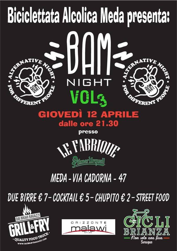 Primo Trofeo Forcella D'oro Bam Night Vol#3