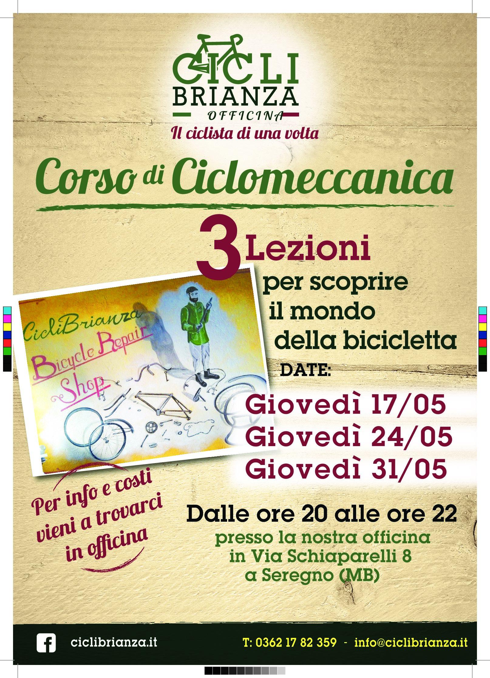 CicliBrianza Corso Di Ciclomeccanica