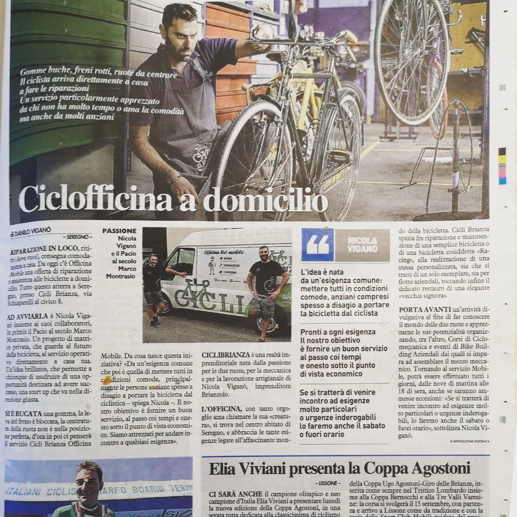 Ciclo Officina Mobile